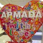 Выставку и гостей встречала Армада